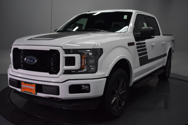 2018 F-150 SuperCrew Cab 4x4,  Pickup #T4342 - photo 4