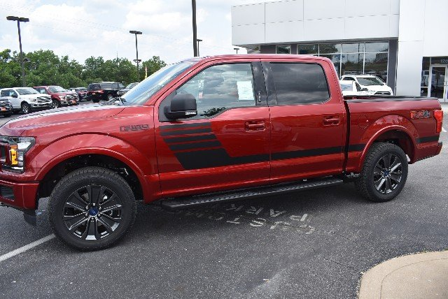 2018 F-150 SuperCrew Cab 4x4,  Pickup #T4469 - photo 4