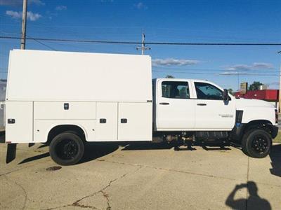 2019 Chevrolet Silverado Medium Duty Crew Cab DRW 4x4, Knapheide KUVcc Service Body #K71877 - photo 2