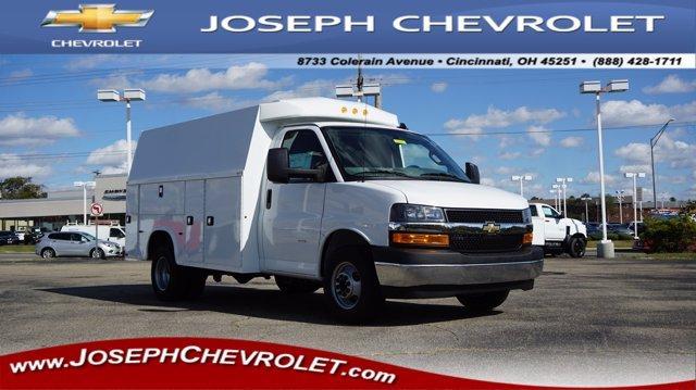 2019 Chevrolet Express 3500 4x2, Knapheide Service Utility Van #K81830 - photo 1
