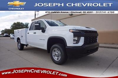 2020 Chevrolet Silverado 2500 Double Cab 4x2, Knapheide Steel Service Body #L71803 - photo 1