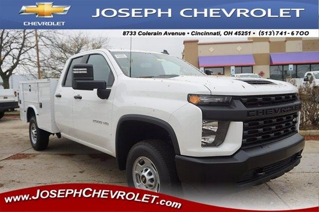 2020 Chevrolet Silverado 2500 Double Cab 4x2, Knapheide Steel Service Body #L71918 - photo 1