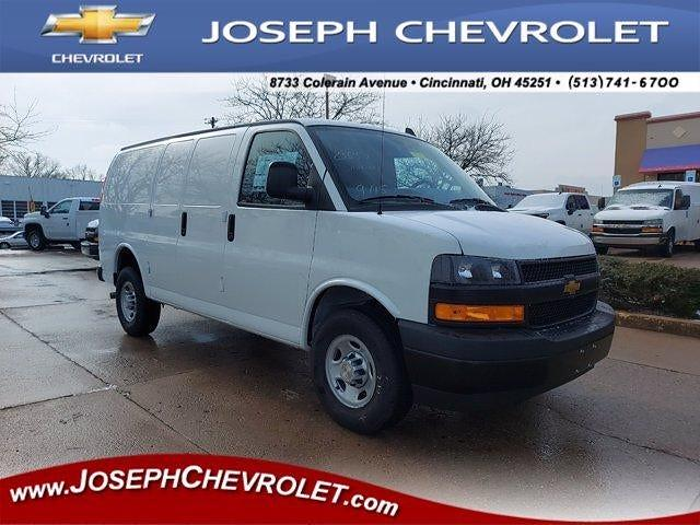 2020 Chevrolet Express 2500 4x2, Masterack Empty Cargo Van #L81942 - photo 1