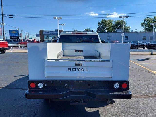 2021 Silverado 2500 Double Cab 4x4,  Royal Truck Body Service Body #M70939 - photo 19
