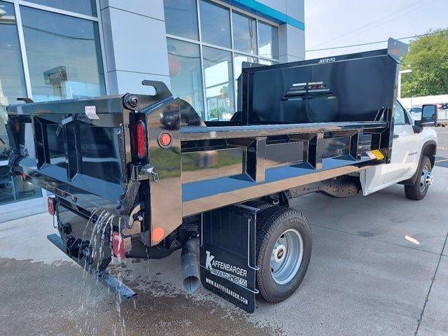 2021 Silverado 3500 Regular Cab 4x4,  Crysteel E-Tipper Dump Body #M71048 - photo 2