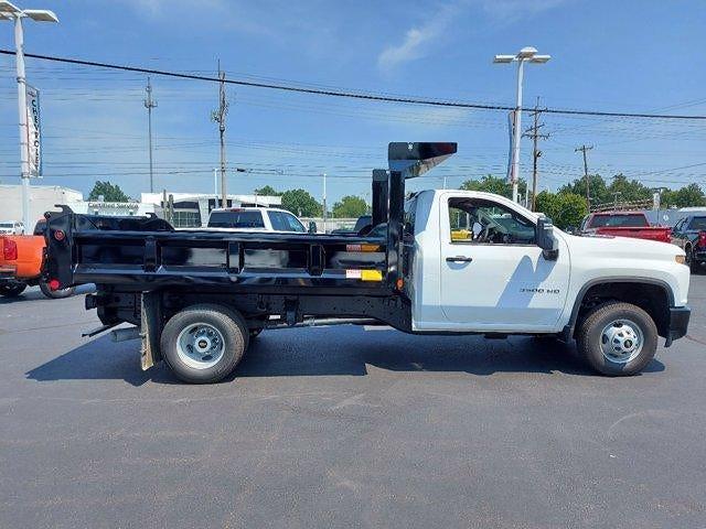 2021 Silverado 3500 Regular Cab 4x4,  Crysteel E-Tipper Dump Body #M71049 - photo 8