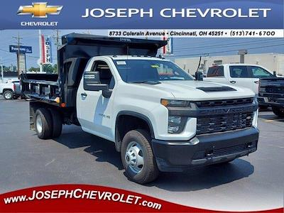 2021 Silverado 3500 Regular Cab 4x4,  Crysteel E-Tipper Dump Body #M71049 - photo 1
