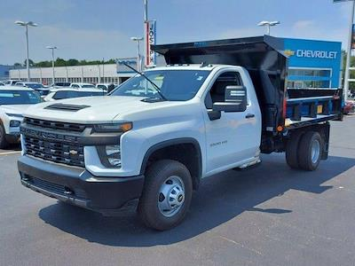 2021 Silverado 3500 Regular Cab 4x4,  Crysteel E-Tipper Dump Body #M71049 - photo 4