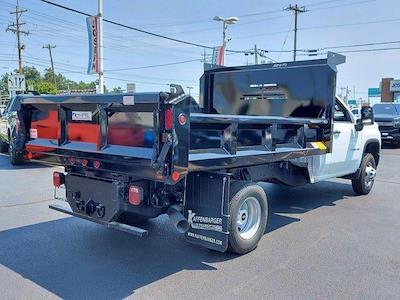 2021 Silverado 3500 Regular Cab 4x4,  Crysteel E-Tipper Dump Body #M71049 - photo 2