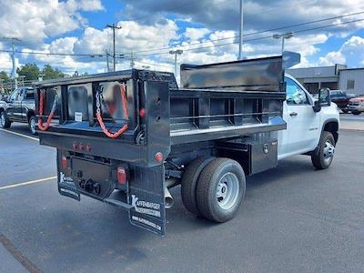 2021 Silverado 3500 Regular Cab 4x4,  Godwin 184U Dump Body #M71093 - photo 2