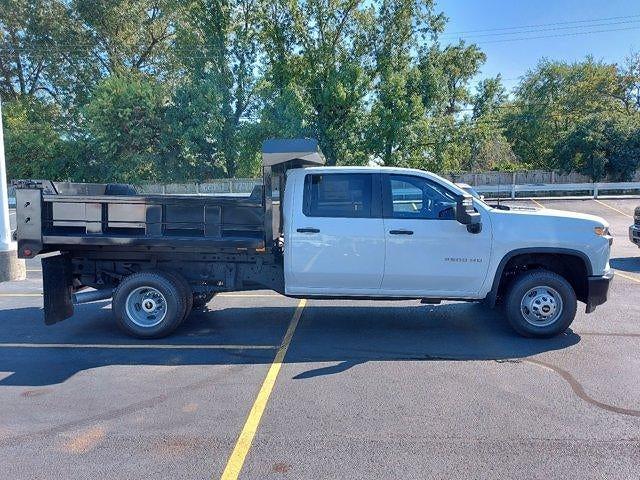 2021 Silverado 3500 Crew Cab 4x4,  Godwin 184U Dump Body #M71139 - photo 8