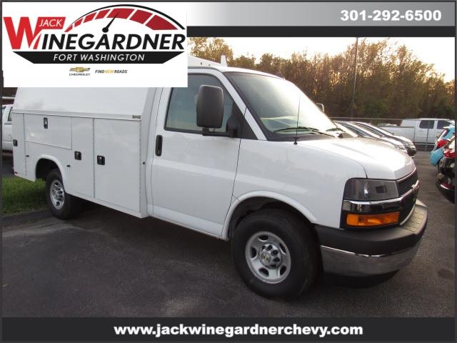 2020 Chevrolet Express 3500 4x2, Knapheide Service Utility Van #209502 - photo 1