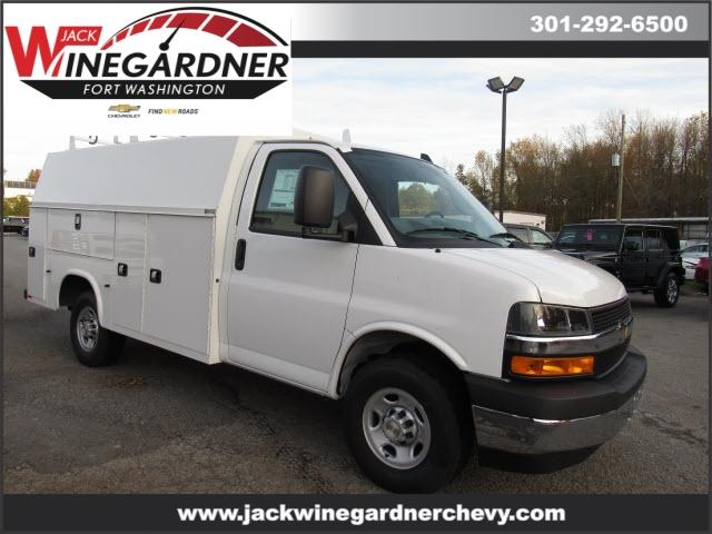 2020 Chevrolet Express 3500 4x2, Knapheide Service Utility Van #209507 - photo 1