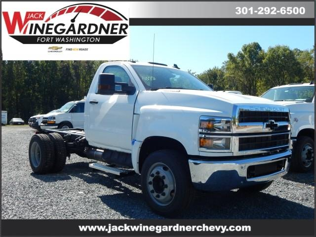 2019 Chevrolet Silverado Medium Duty Regular Cab DRW 4x2, Cab Chassis #99595 - photo 1