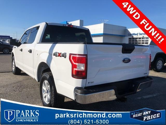 2018 Ford F-150 SuperCrew Cab 4x4, Pickup #116289XB - photo 5