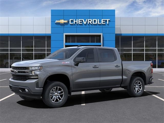2021 Chevrolet Silverado 1500 Crew Cab 4x4, Pickup #121265X - photo 3