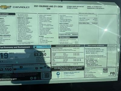 2021 Chevrolet Colorado Crew Cab 4x4, Pickup #275644 - photo 19