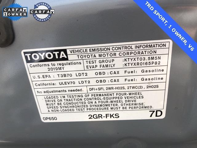2019 Toyota Tacoma Double Cab 4x4, Pickup #276366A - photo 53