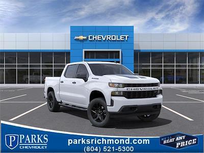 2021 Chevrolet Silverado 1500 Crew Cab 4x4, Pickup #384648 - photo 1