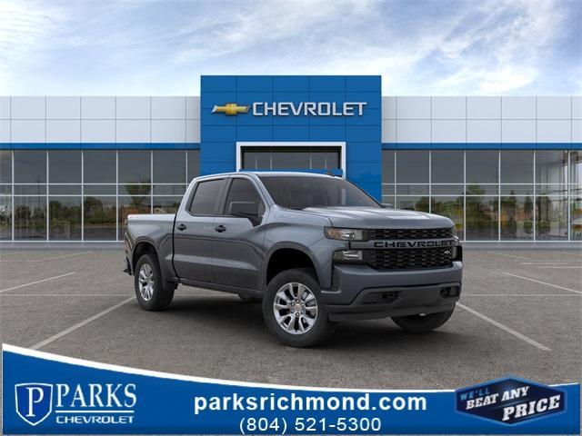 2020 Chevrolet Silverado 1500 Crew Cab 4x4, Pickup #451083X - photo 1