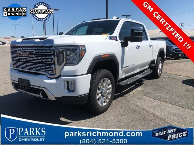2020 GMC Sierra 2500 Crew Cab 4x4, Pickup #7R1595 - photo 1