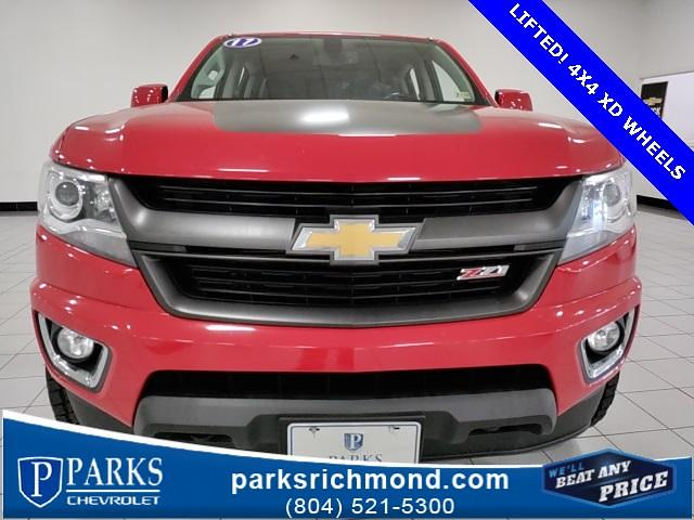 2017 Chevrolet Colorado Crew Cab 4x4, Pickup #7R2023 - photo 12