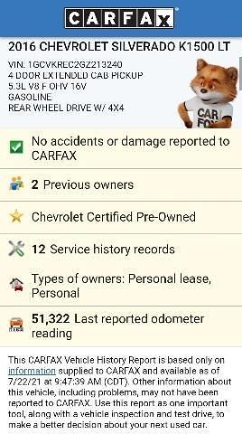 2016 Chevrolet Silverado 1500 Double Cab 4x4, Pickup #7R2025 - photo 61