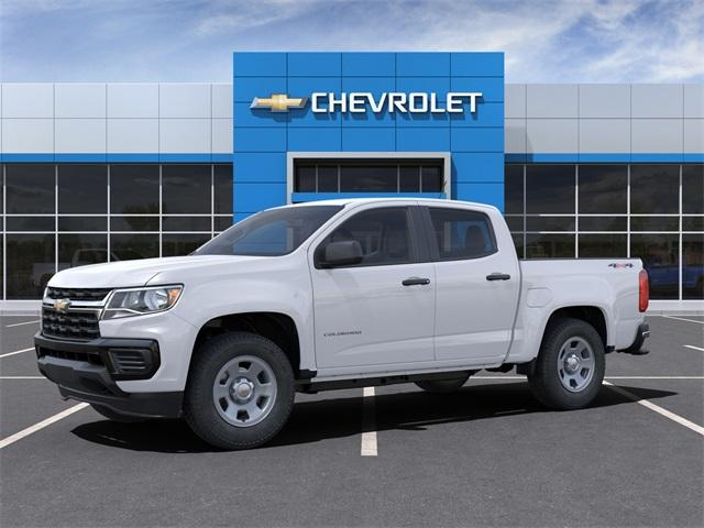 2021 Chevrolet Colorado Crew Cab 4x4, Pickup #FR1378 - photo 3