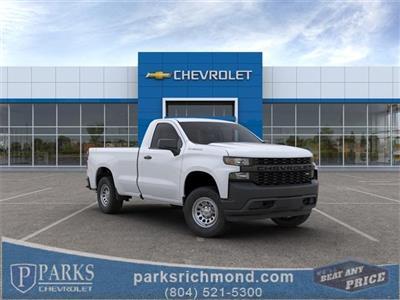 2020 Chevrolet Silverado 1500 Regular Cab 4x4, Pickup #FR2849X - photo 1