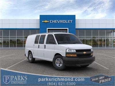 2020 Chevrolet Express 3500 4x2, Empty Cargo Van #FR3191X - photo 1