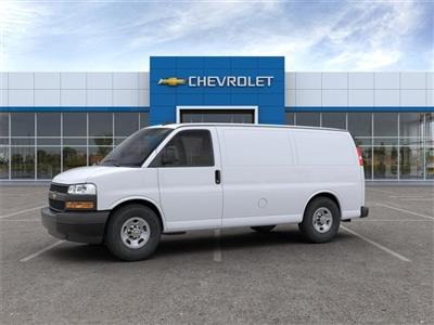 2020 Chevrolet Express 3500 RWD, Empty Cargo Van #FR3191X - photo 3
