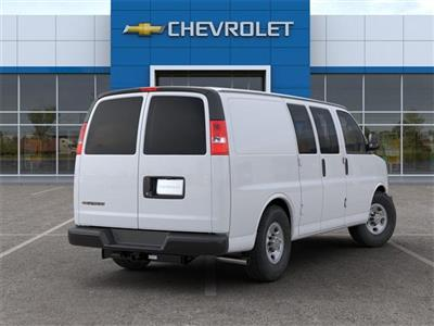 2020 Chevrolet Express 3500 RWD, Empty Cargo Van #FR3191X - photo 2