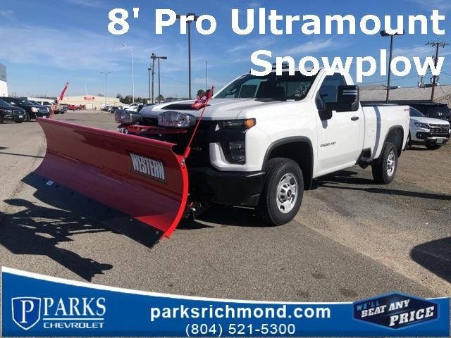 2020 Chevrolet Silverado 2500 Regular Cab 4x4, Western Snowplow Pickup #FR4307 - photo 1
