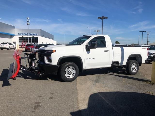 2020 Chevrolet Silverado 2500 Regular Cab 4x4, Western Snowplow Pickup #FR4307 - photo 4