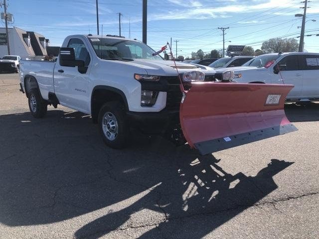 2020 Chevrolet Silverado 2500 Regular Cab 4x4, Western Snowplow Pickup #FR4307 - photo 7