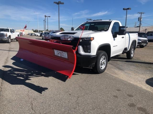 2020 Chevrolet Silverado 2500 Regular Cab 4x4, Western Snowplow Pickup #FR4307 - photo 9