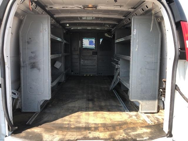 2013 Chevrolet Express 3500 4x2, Upfitted Cargo Van #FR9078A - photo 2