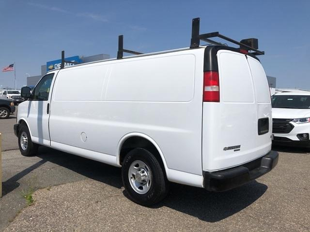 2013 Chevrolet Express 3500 4x2, Upfitted Cargo Van #FR9078A - photo 4