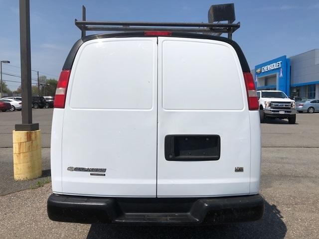 2013 Chevrolet Express 3500 4x2, Upfitted Cargo Van #FR9078A - photo 7