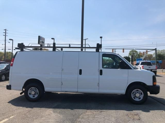 2013 Chevrolet Express 3500 4x2, Upfitted Cargo Van #FR9078A - photo 9