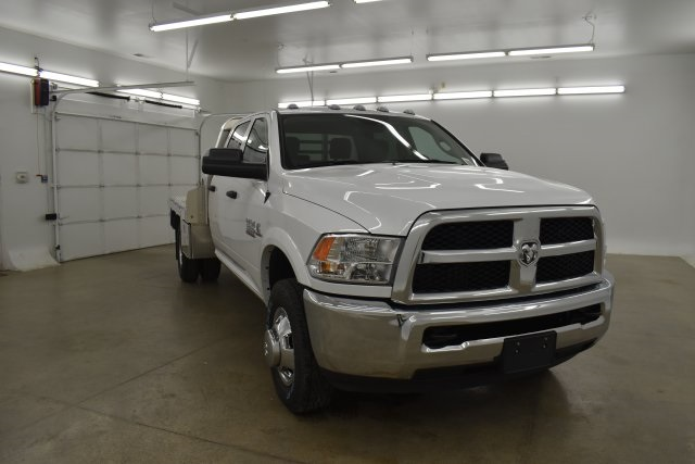 2018 Ram 3500 Crew Cab DRW 4x4,  M H EBY Platform Body #C312743 - photo 3