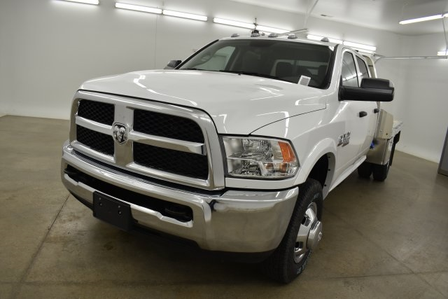 2018 Ram 3500 Crew Cab DRW 4x4,  M H EBY Platform Body #C312743 - photo 5