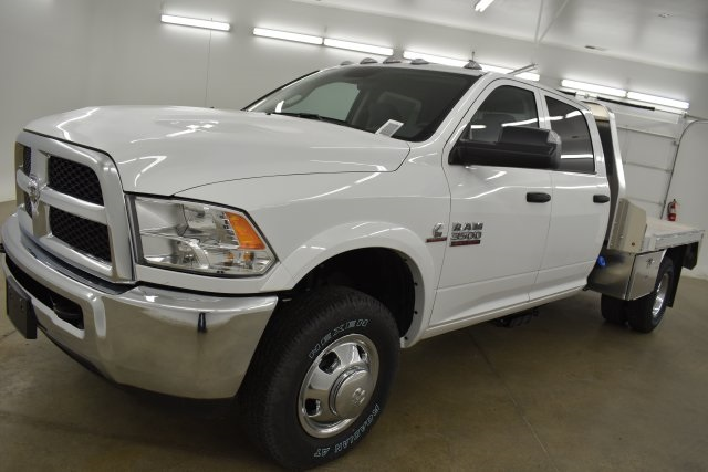 2018 Ram 3500 Crew Cab DRW 4x4,  M H EBY Platform Body #C312743 - photo 6