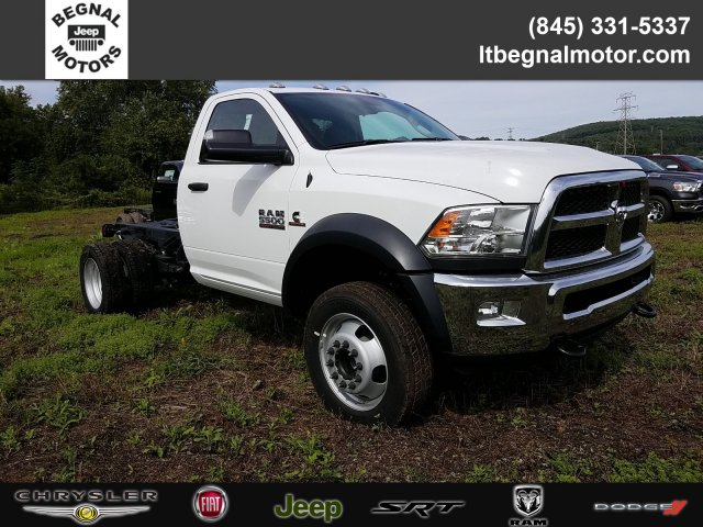 2018 Ram 5500 Regular Cab DRW 4x4,  Cab Chassis #T18326 - photo 1