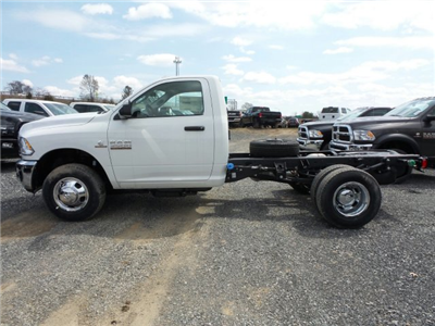 2018 Ram 3500 Regular Cab DRW 4x4,  Cab Chassis #T1846 - photo 5