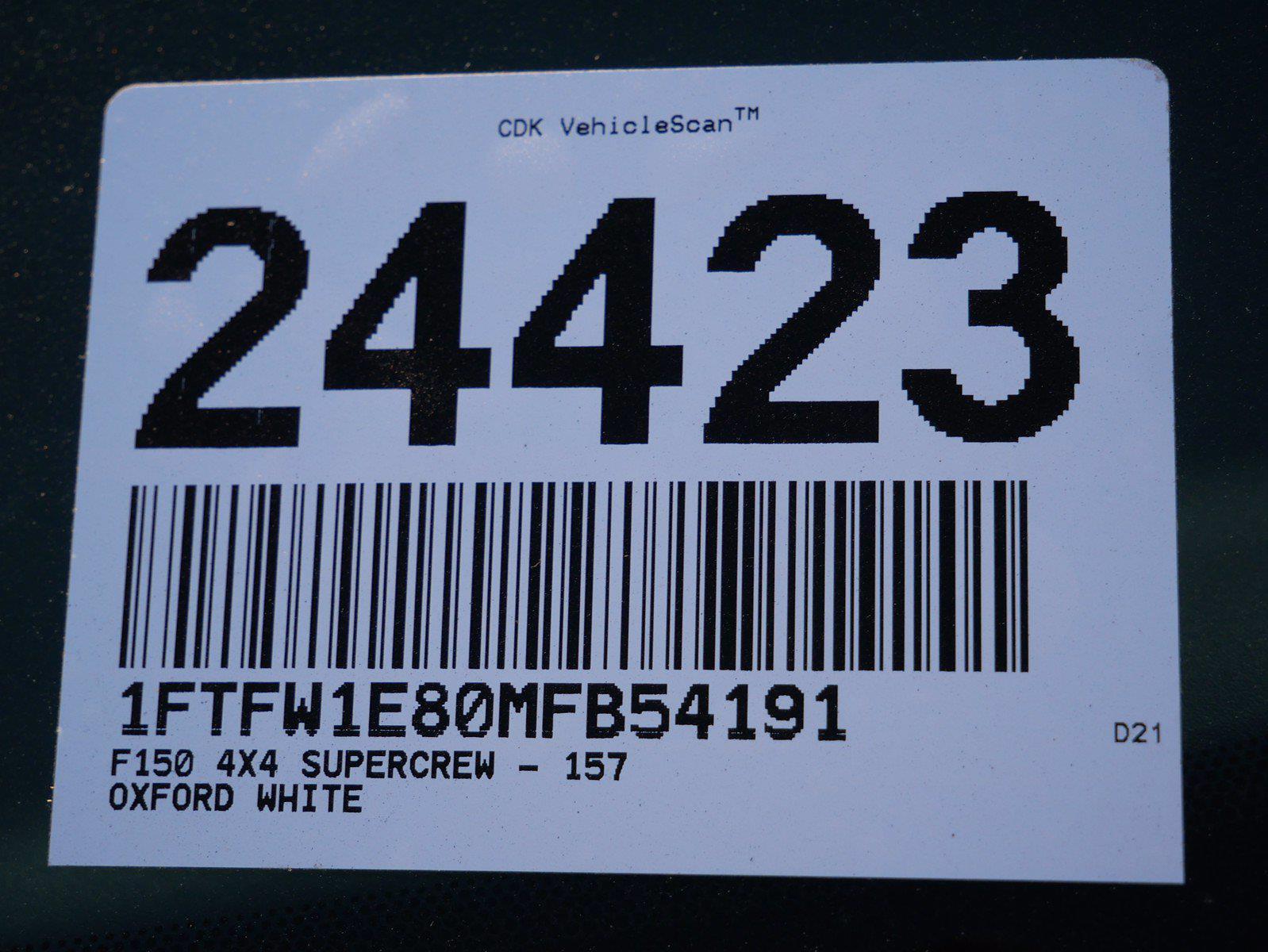 2021 F-150 SuperCrew Cab 4x4,  Pickup #24423 - photo 39