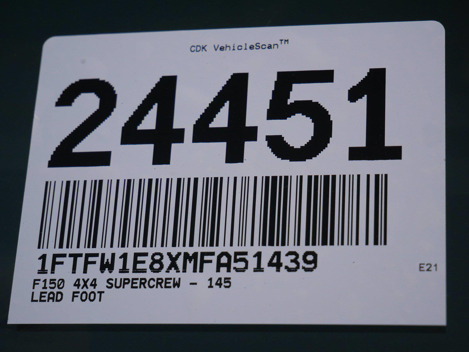2021 F-150 SuperCrew Cab 4x4,  Pickup #24451 - photo 40