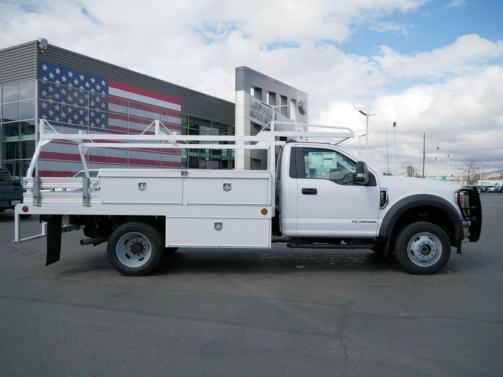 2020 F-550 Regular Cab DRW 4x4, Scelzi CTFB Contractor Body #63072 - photo 4
