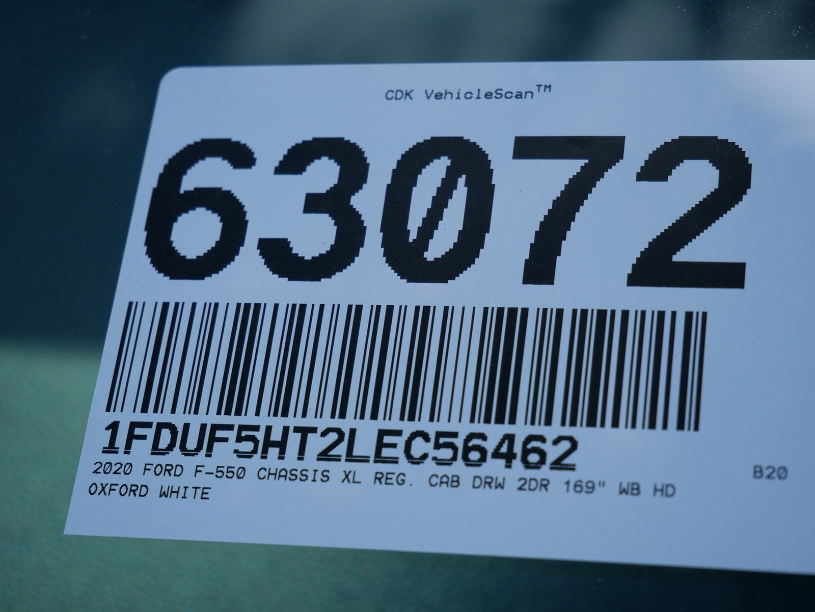 2020 F-550 Regular Cab DRW 4x4, Scelzi CTFB Contractor Body #63072 - photo 32