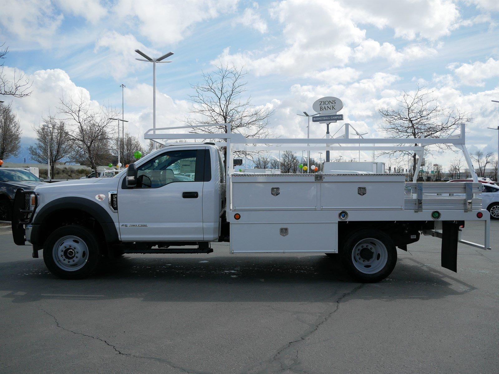 2020 F-550 Regular Cab DRW 4x4, Scelzi CTFB Contractor Body #63072 - photo 7